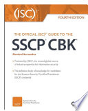 The Official  ISC 2 Guide to the SSCP CBK