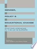 Gender  Policy and Educational Change