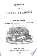 Lessons for little readers
