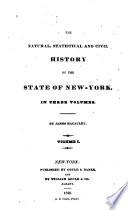 The natural, statistical, and civil history of the state of New-York