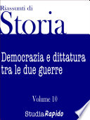 Riassunti di storia   Volume 10