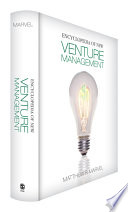 Encyclopedia of New Venture Management
