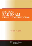Michigan Bar Exam Essay Deconstruction