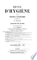 Revue d'hygiène et de médecine préventive