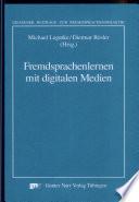 Fremdsprachenlernen mit digitalen Medien