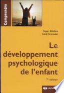 illustration Le développement psychologique de l'enfant