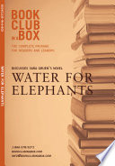 Bookclub in a Box Discusses Sara Gruen s novel  Water For Elephants