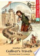 Gulliver s Travels  English Russian Edition illustrated