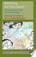 download ebook reclaiming the public sphere pdf epub