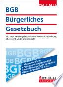 BGB - Bürgerliches Gesetzbuch Ausgabe 2013
