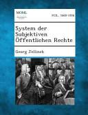 System Der Subjektiven Offentlichen Rechte