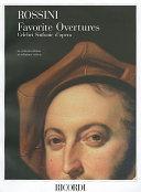 Gioachino Rossini   Favorite Overtures