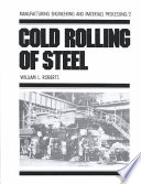 Cold Rolling Of Steel book