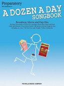 A Dozen a Day Songbook   Preparatory Book