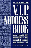 2014 V  I  P  Address Book