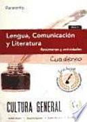 Lengua  Comunicaci  n y Literatura  resumenes y actividades