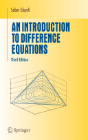 An Introduction to Difference Equations To Understand Difference Equations And Discrete