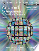 Android for Programmers