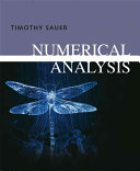 Timothy Sauer: Numerical Analysis