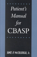 Patient s Manual for CBASP