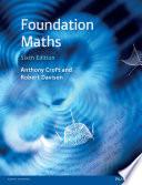 Foundation Maths