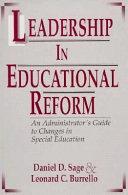 Leadership in Educational Reform