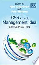 Csr As A Management Idea book