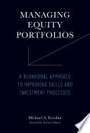 Managing Equity Portfolios