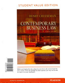 Contemporary Business Law  Student Value Edition