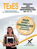 Texes Pedagogy and Professional Responsibilities EC 12  160  Book and Online
