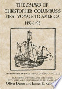 The Diario of Christopher Columbus's First Voyage to America, 1492-1493 Presents The Most Accurate Printed Version Of