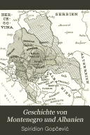 Geschichte Von Montenegro und Albanien