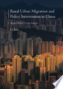 Rural Urban Migration And Policy Intervention In China