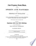 the sports pastimes of the people of england
