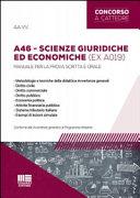 A46 scienze giuridiche ed economiche  ex A019