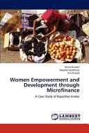 Women Empowerment and Development Through Microfinance