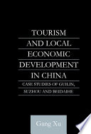 Tourism And Local Development In China book