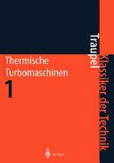 Thermische turbomaschinen