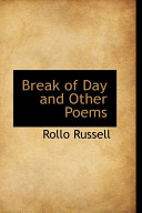Break of Day and Other Poems