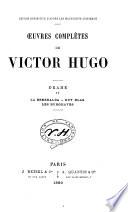 Oeuvres compl  tes de Victor Hugo  Roman  Notre Dame de Paris