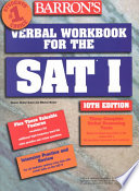 Barron s Verbal Workbook for the SAT I