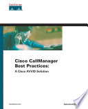 Cisco CallManager Best Practices