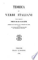 Teorica de verbi italiani
