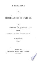 Narrative and Miscellaneous Papers  The household wreck  The Spanish nun  Flight of a Tartar tribe