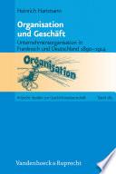 Organisation und Geschäft