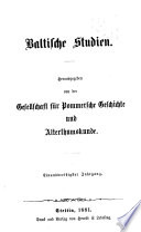 Baltische Studien