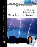 A to Z of Scientists in Weather and Climate