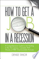 How to Get a Job in a Recession 2012