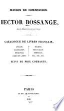 Catalogue de livres fran  ais  anglais  allemands  espagnols  grecs et latins  italiens  portugais  orientaux  etc