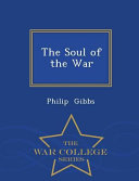 The Soul of the War   War College Series